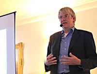 Roman Klementschitz tijdens het debat over Zelfrijdend Vervoer