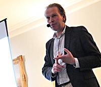 Ron de Bruin tijdens het debat over Zelfrijdend Vervoer